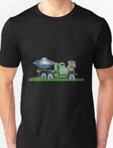 Vintage stylish UFO route 66 Us designer  T-Shirt