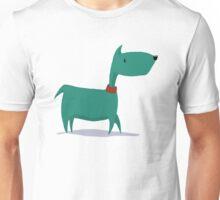 The wandering dog. Unisex T-Shirt