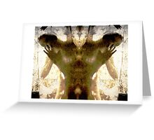 Ink blot of thought Greeting Card