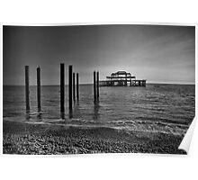 West Pier Brighton Poster