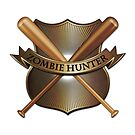 Zombie hunter shield by Emma Harckham