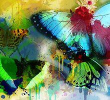 Butterflies by brickinthewall