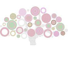 pink tree by offpeaktraveler