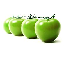 Green tomatoes Photographic Print