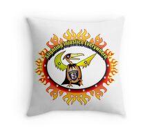 Super Eggbert - Slighting Injustice Everywhere II Throw Pillow