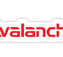 Avalanche Snowboards Logo Sticker