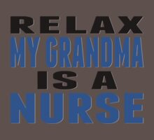 My Grandma Is A Nurse One Piece - Short Sleeve