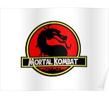Jurassic Kombat Poster