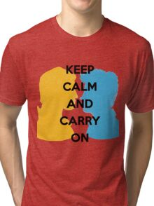 Carry On, Simon and Baz Tri-blend T-Shirt