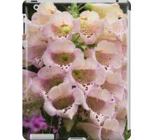 Exquisite, Elegant English Foxgloves iPad Case/Skin