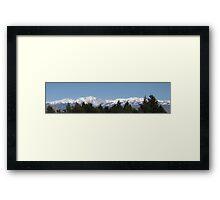 Another Snow Scene Framed Print