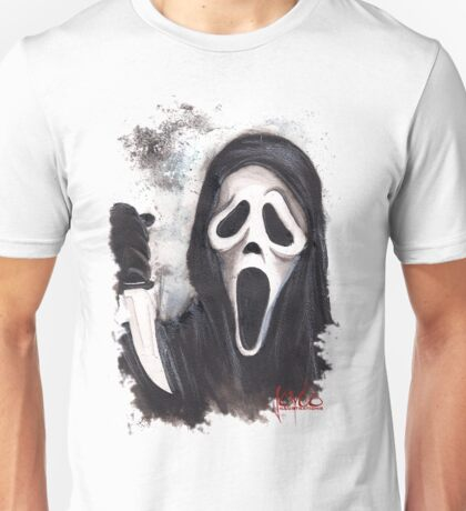 Do you like scary movies? Unisex T-Shirt