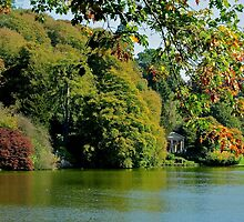 Stourhead - Autumn Folly by ColinKemp