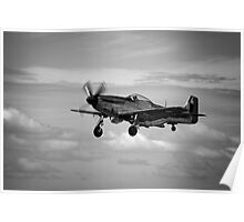 P-51D Mustang at Point Cook Poster