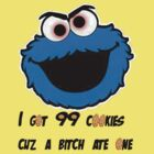 Jay-Z Cookie Monster by diamondjames13