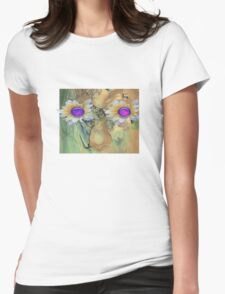 Nature. mother nature Womens Fitted T-Shirt