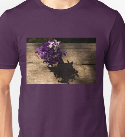 A Fragrant Bouquet of Miniature Spring Violas - Can You Smell Them? Unisex T-Shirt