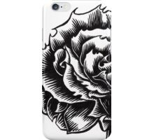 Rose Tattoo - Ink Drawing iPhone Case/Skin