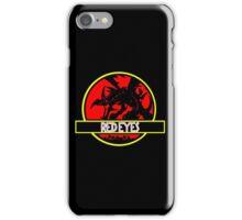 Red Eyes Black Jurassic Dragon iPhone Case/Skin