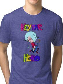 Keytar Hero Tri-blend T-Shirt