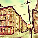 Broadway Street - Downtown Cincinnati by Alex Baker