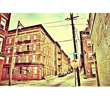 Broadway Street - Downtown Cincinnati Photographic Print