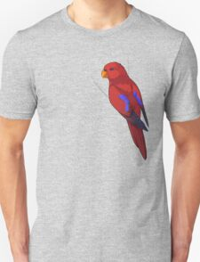 Clingy Red Lory T-Shirt