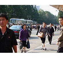 Trolleybus stop at Yonggwang station (2) Photographic Print