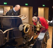 1904 MMC 8HP REG H13 at Bonhams London to Brighton Run sale of Veteran Motor cars  Sticker