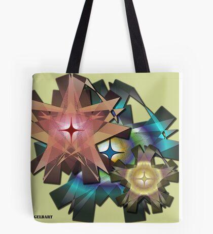Ribbon Floral Tote Bag