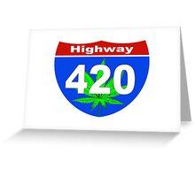 Highway  420 Greeting Card