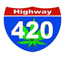 Highway  420 Photographic Print