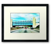 Cincinnati Bridge - Cincinnati Framed Print