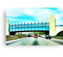 Cincinnati Bridge - Cincinnati Canvas Print