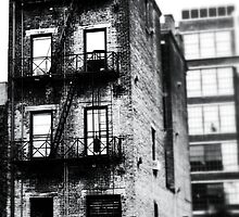 Decaying Building - Downtown Cincinnati by Alex Baker
