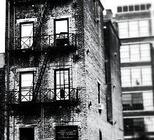 Decaying Building - Downtown Cincinnati by Alex Baker