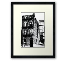 Decaying Building - Downtown Cincinnati Framed Print