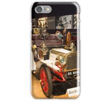 Inside Bonhams London to Brighton Run sale of Veteran Motor cars which takes place ahead of this weekends famous car run iPhone Case/Skin