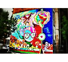 Pop Art Graffiti - Downtown Cincinnati Photographic Print