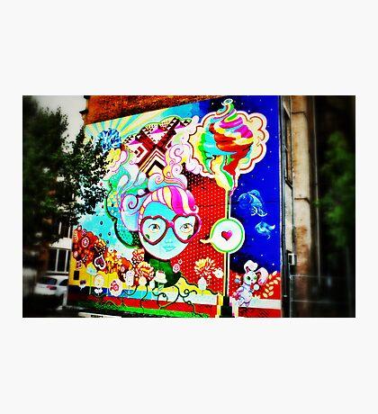 Pop Art Graffiti - Downtown Cincinnati Photographic Print