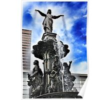 The Fountain - Downtown Cincinnati Poster