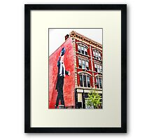 Top Hat - Downtown Cincinnati Framed Print