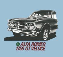 Alfa Romeo 1750 GT Veloce Kids Tee