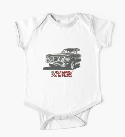 Alfa Romeo 1750 GT Veloce One Piece - Short Sleeve