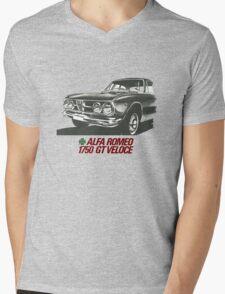 Alfa Romeo 1750 GT Veloce Mens V-Neck T-Shirt