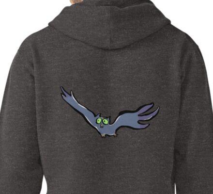 flying owl Pullover Hoodie