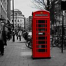 Red London Phone Box by DuncanPenfold