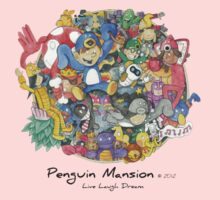 Penguin Mansion - Circle of Characters Kids Clothes