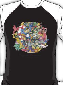 Penguin Mansion - Circle of Characters T-Shirt