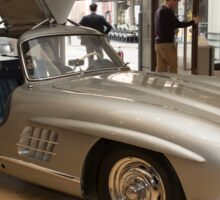 007 James Bond replica car at Bonhams London  Sticker